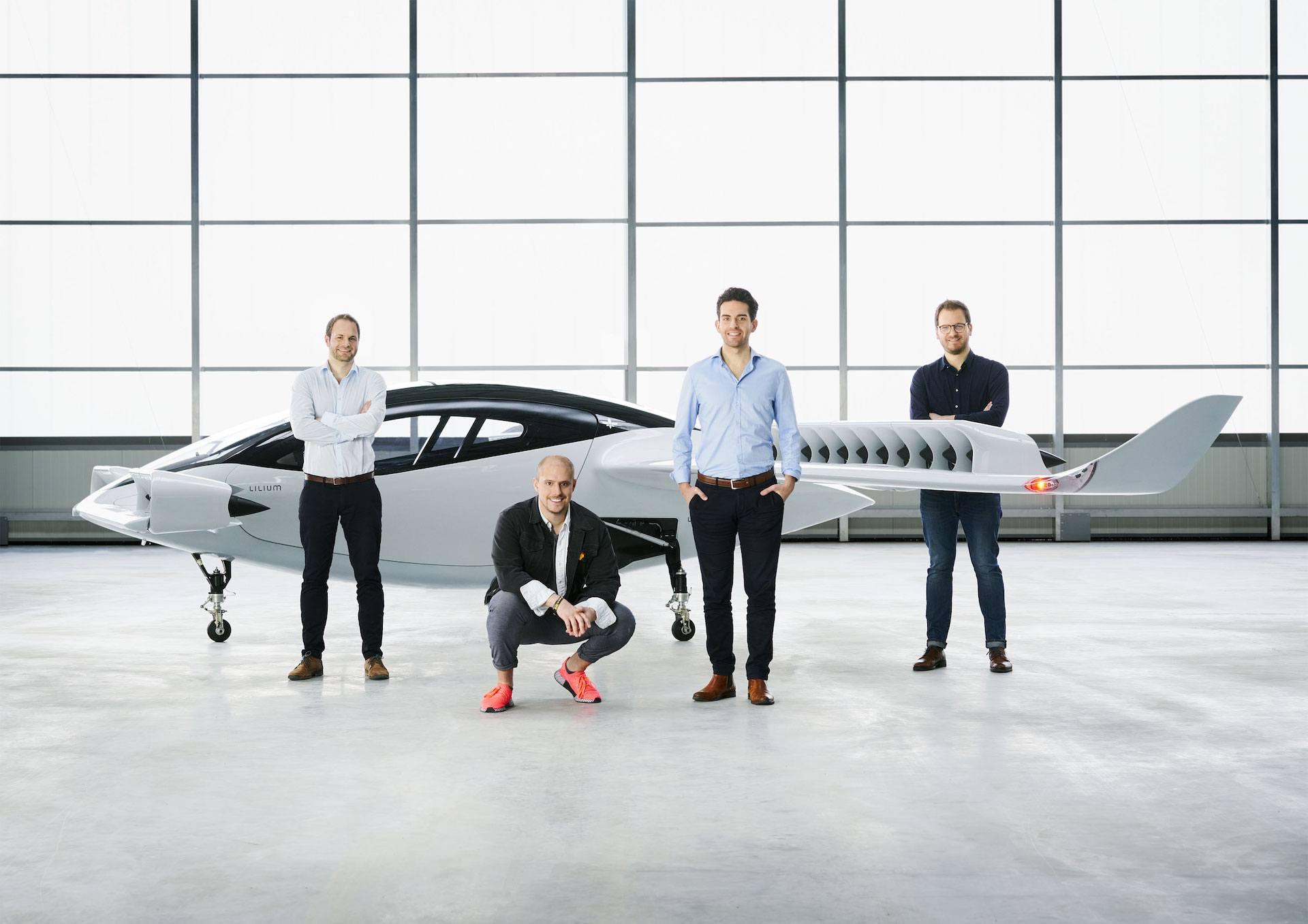 Zakladatelé Lilium Daniel Wiegand, Sebastian Born, Matthias Meiner a Patrick Nathen