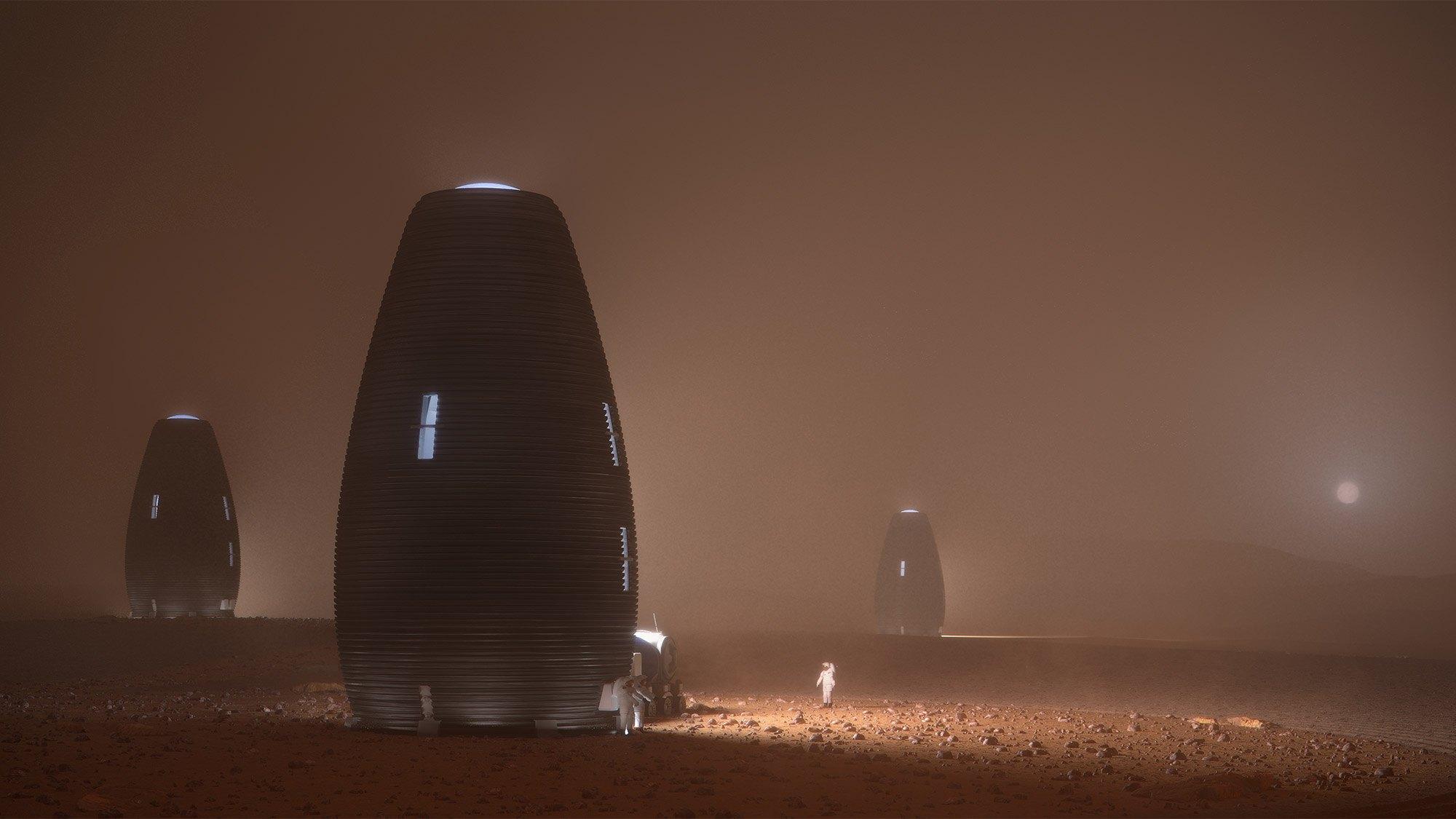 Obydlí od AI SpaceFactory