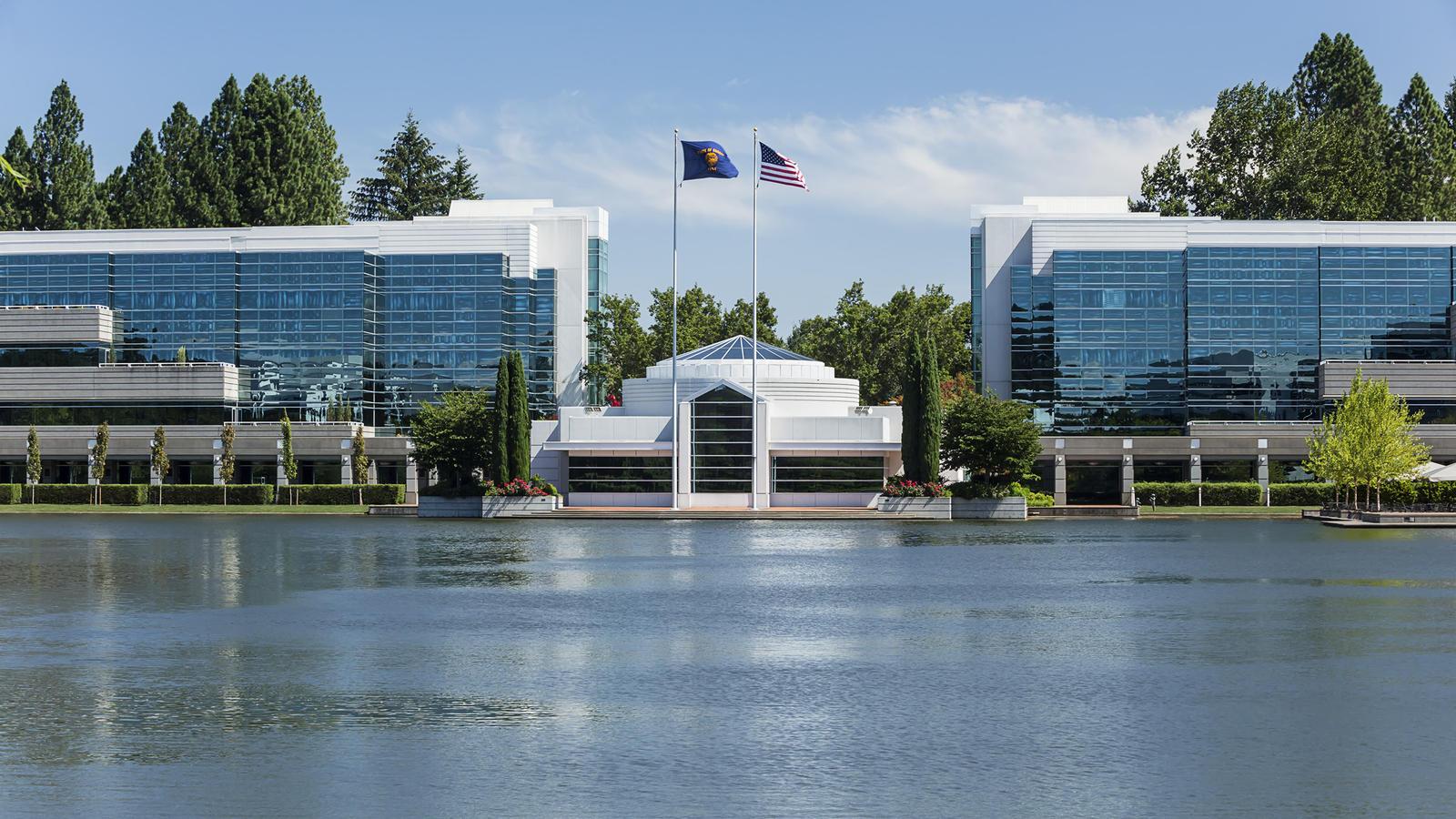 Ústředí společnosti Nike poblíž Beavertonu v americkém Oregonu