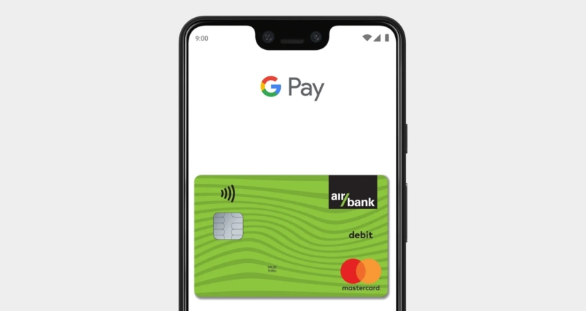 air-bank-google-pay
