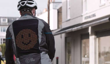 Emoji Jacket Helps People to 'Share The Road'