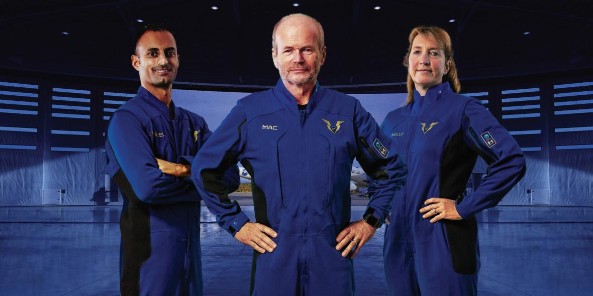 Virgin Galactic Pilot Spacesuits