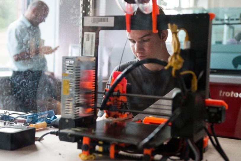 3D-станок, лазерный гравер Trotec - базовое оборудование FabLab центров