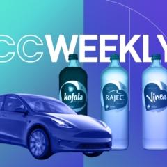 CC Weekly: Vratné lahve Mattoni a Kofoly míří do obchodů, zásilky až do kufru auta a Tesla Model Y v Česku